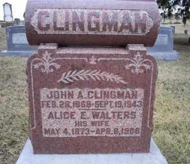 CLINGMAN, JOHN A. - Ross County, Ohio | JOHN A. CLINGMAN - Ohio Gravestone Photos