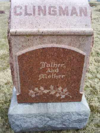 CLINGMAN, MOTHER & FATHER - Ross County, Ohio   MOTHER & FATHER CLINGMAN - Ohio Gravestone Photos