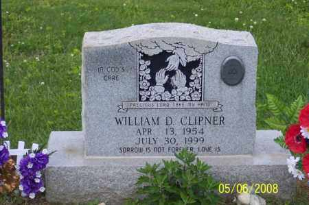 CLIPNER, WILLIAM D. - Ross County, Ohio | WILLIAM D. CLIPNER - Ohio Gravestone Photos