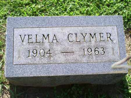 CLYMER, VELMA - Ross County, Ohio   VELMA CLYMER - Ohio Gravestone Photos