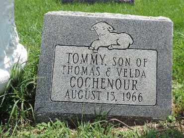 COCHENOUR, TOMMY - Ross County, Ohio | TOMMY COCHENOUR - Ohio Gravestone Photos