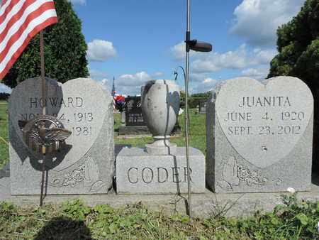 CODER, HOWARD - Ross County, Ohio   HOWARD CODER - Ohio Gravestone Photos