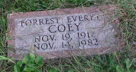 COEY, FORREST EVERETT - Ross County, Ohio | FORREST EVERETT COEY - Ohio Gravestone Photos