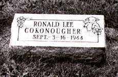 COKONOUGHER, RONALD LEE - Ross County, Ohio | RONALD LEE COKONOUGHER - Ohio Gravestone Photos