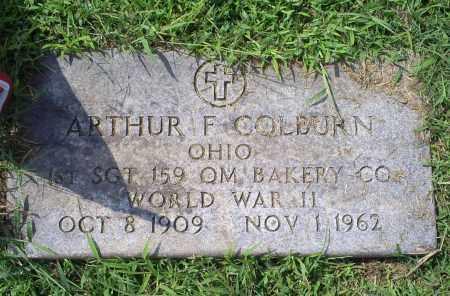 COLBURN, ARTHUR F. - Ross County, Ohio   ARTHUR F. COLBURN - Ohio Gravestone Photos