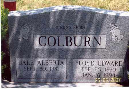 COLBURN, FLOYD EDWARD - Ross County, Ohio | FLOYD EDWARD COLBURN - Ohio Gravestone Photos