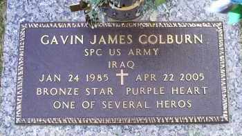 COLBURN, GAVIN JAMES - Ross County, Ohio | GAVIN JAMES COLBURN - Ohio Gravestone Photos