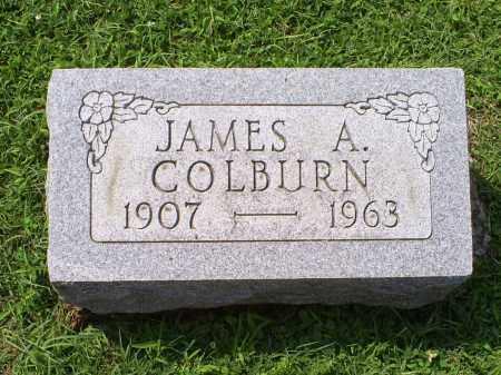 COLBURN, JAMES A. - Ross County, Ohio   JAMES A. COLBURN - Ohio Gravestone Photos