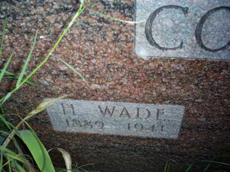 COLLINS, H. WADE - Ross County, Ohio | H. WADE COLLINS - Ohio Gravestone Photos