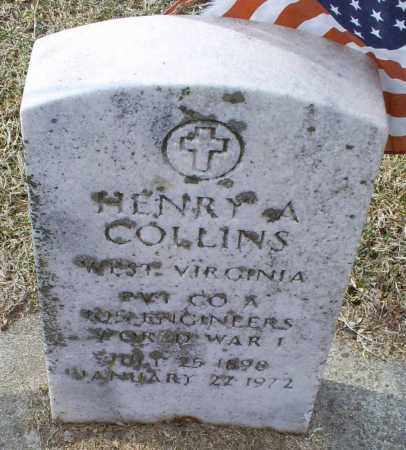 COLLINS, HENRY A. - Ross County, Ohio | HENRY A. COLLINS - Ohio Gravestone Photos