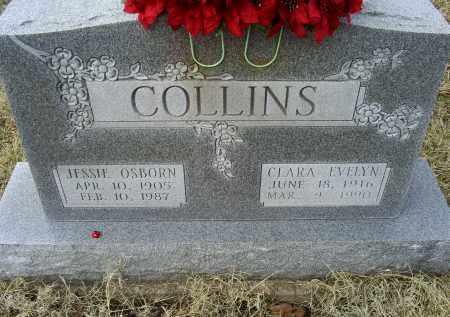 COLLINS, JESSIE OSBORN - Ross County, Ohio | JESSIE OSBORN COLLINS - Ohio Gravestone Photos
