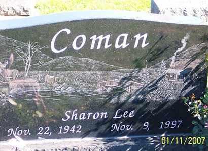 COMAN, SHARON LEE - Ross County, Ohio   SHARON LEE COMAN - Ohio Gravestone Photos