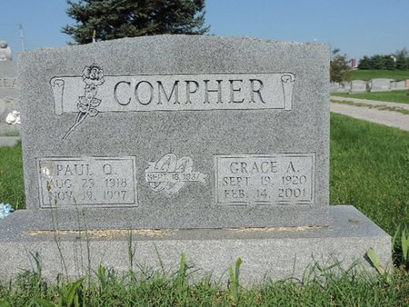 COMPHER, GRACE A. - Ross County, Ohio | GRACE A. COMPHER - Ohio Gravestone Photos