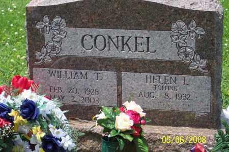 CONKEL, WILLIAM T. - Ross County, Ohio | WILLIAM T. CONKEL - Ohio Gravestone Photos