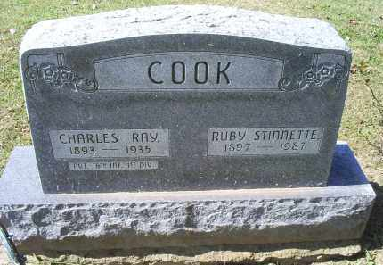 COOK, CHARLES RAY - Ross County, Ohio | CHARLES RAY COOK - Ohio Gravestone Photos