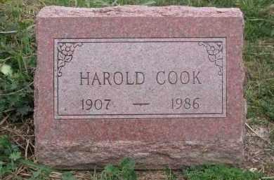 COOK, HAROLD - Ross County, Ohio | HAROLD COOK - Ohio Gravestone Photos