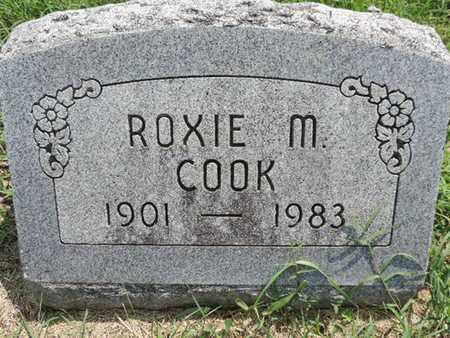 COOK, ROXIE M - Ross County, Ohio | ROXIE M COOK - Ohio Gravestone Photos