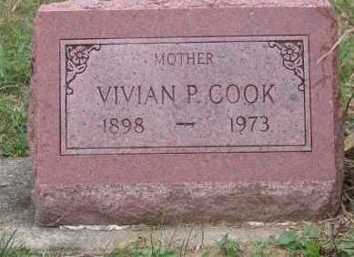 PLYLEY COOK, VIVAN - Ross County, Ohio | VIVAN PLYLEY COOK - Ohio Gravestone Photos