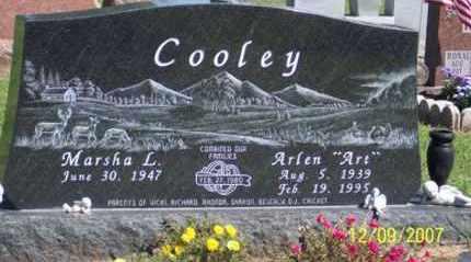 "COOLEY, ARLEN ""ART"" - Ross County, Ohio | ARLEN ""ART"" COOLEY - Ohio Gravestone Photos"