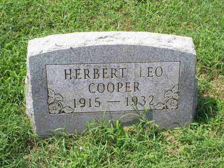 COOPER, HERBERT LEO - Ross County, Ohio | HERBERT LEO COOPER - Ohio Gravestone Photos