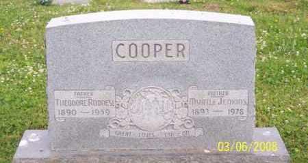 COOPER, THEODORE RODNEY - Ross County, Ohio | THEODORE RODNEY COOPER - Ohio Gravestone Photos