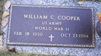 COOPER, WILLIAM C. - Ross County, Ohio | WILLIAM C. COOPER - Ohio Gravestone Photos