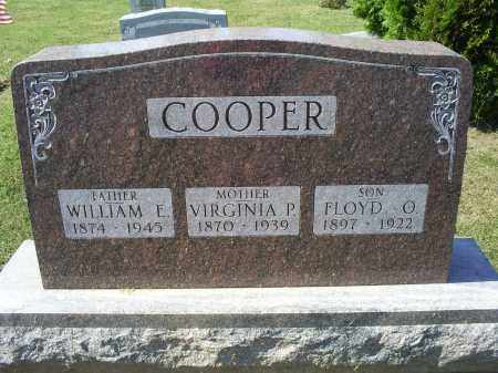 COOPER, VIRGINIA P. - Ross County, Ohio | VIRGINIA P. COOPER - Ohio Gravestone Photos