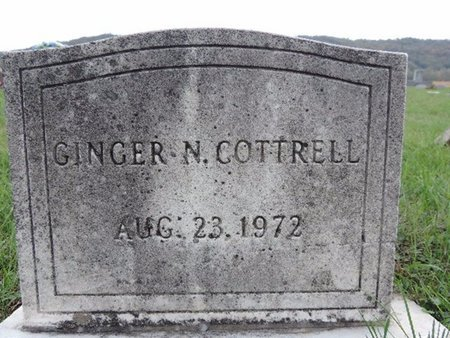 COTTRELL, GINGER N - Ross County, Ohio | GINGER N COTTRELL - Ohio Gravestone Photos