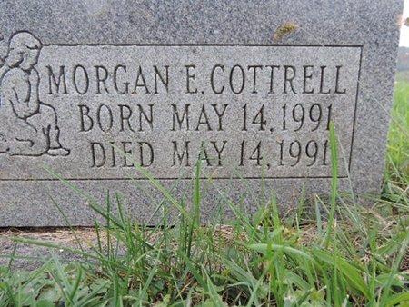 COTTRELL, MORGAN E - Ross County, Ohio   MORGAN E COTTRELL - Ohio Gravestone Photos