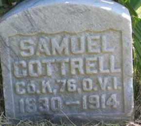 COTTRELL, SAMUEL - Ross County, Ohio   SAMUEL COTTRELL - Ohio Gravestone Photos