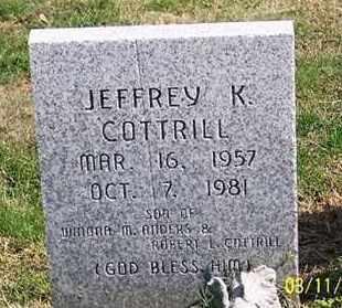 COTTRILL, JEFFREY K. - Ross County, Ohio | JEFFREY K. COTTRILL - Ohio Gravestone Photos