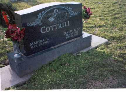 COTTRILL, MARTHA L. - Ross County, Ohio | MARTHA L. COTTRILL - Ohio Gravestone Photos