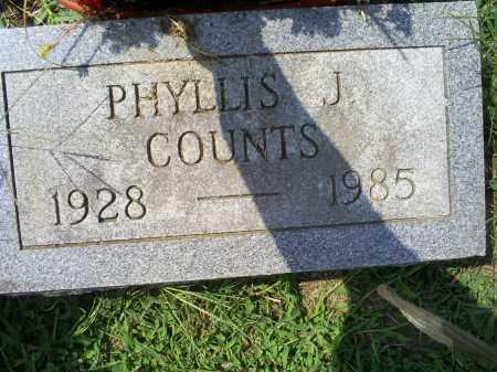 COUNTS, PHYLLIS J. - Ross County, Ohio | PHYLLIS J. COUNTS - Ohio Gravestone Photos