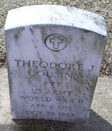 COUSINS, THEODORE J. - Ross County, Ohio   THEODORE J. COUSINS - Ohio Gravestone Photos