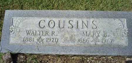 COUSINS, WALTER R. - Ross County, Ohio | WALTER R. COUSINS - Ohio Gravestone Photos