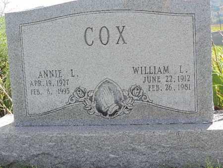 COX, ANNIE L. - Ross County, Ohio | ANNIE L. COX - Ohio Gravestone Photos