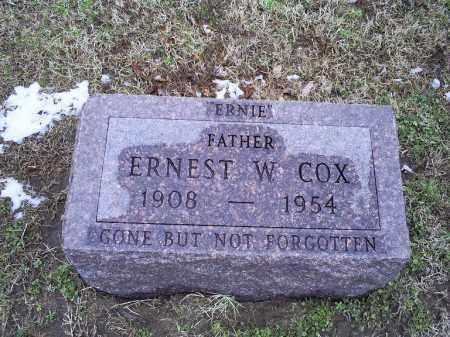COX, ERNEST WATSON - Ross County, Ohio   ERNEST WATSON COX - Ohio Gravestone Photos