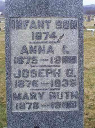COX, INFANT SON - Ross County, Ohio   INFANT SON COX - Ohio Gravestone Photos