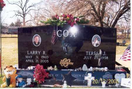 COX, LARRY RANDOLPH - Ross County, Ohio | LARRY RANDOLPH COX - Ohio Gravestone Photos