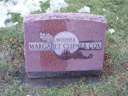 CLIPNER COX, MARGARET - Ross County, Ohio | MARGARET CLIPNER COX - Ohio Gravestone Photos