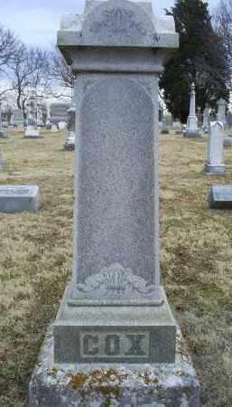 COX, MONUMENT - Ross County, Ohio | MONUMENT COX - Ohio Gravestone Photos