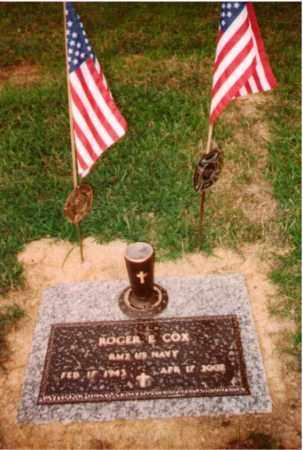 COX, ROGER E. - Ross County, Ohio   ROGER E. COX - Ohio Gravestone Photos