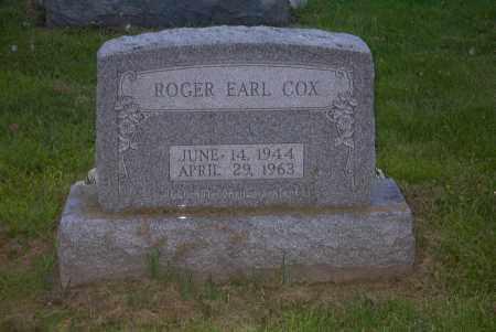 COX, ROGER EARL - Ross County, Ohio | ROGER EARL COX - Ohio Gravestone Photos