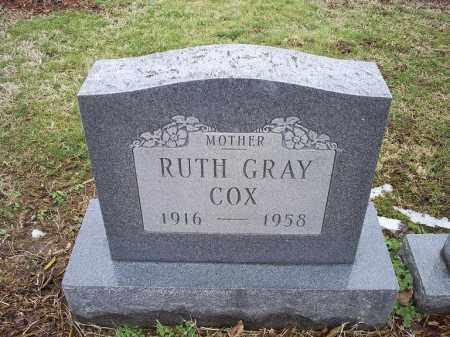 COX, RUTH - Ross County, Ohio | RUTH COX - Ohio Gravestone Photos