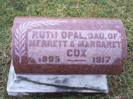 COX, RUTH OPAL - Ross County, Ohio | RUTH OPAL COX - Ohio Gravestone Photos