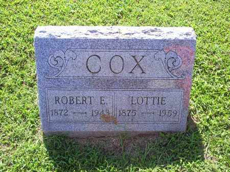 COX, LOTTIE - Ross County, Ohio | LOTTIE COX - Ohio Gravestone Photos