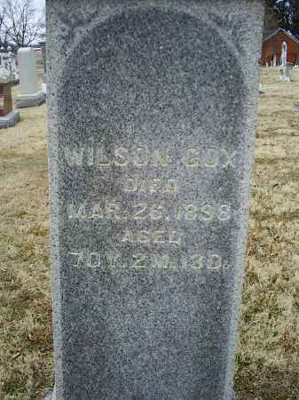 COX, WILSON - Ross County, Ohio | WILSON COX - Ohio Gravestone Photos