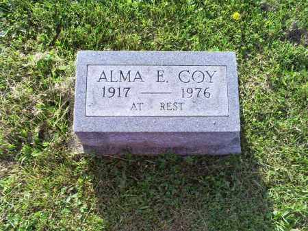 COY, ALMA E. - Ross County, Ohio | ALMA E. COY - Ohio Gravestone Photos