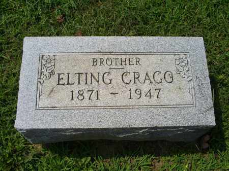 CRAGO, ELTING - Ross County, Ohio | ELTING CRAGO - Ohio Gravestone Photos