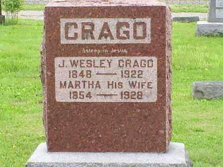 CRAGO, J. WESLEY - Ross County, Ohio | J. WESLEY CRAGO - Ohio Gravestone Photos